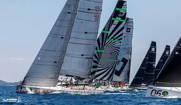 Platoon are showing great form - Rolex TP52 World Championship 2017 © Martinez Studio/52 Super Series