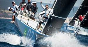 Azzurra at the start of the Rolex TP52 World Championship © Martina Orsini