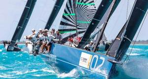 Azzurra lead the 2017 52 Super Series © Martinez Studio/52 Super Series