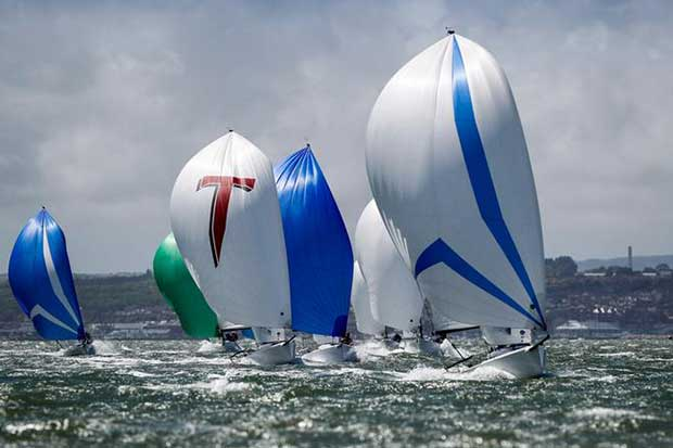 81 teams enjoyed fantastic conditions in the Solent - Royal Southern YC May Regatta 2017 Paul Wyeth