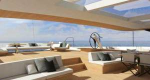 Wally 145 – Living concept © Skipper OnDeck Yachting