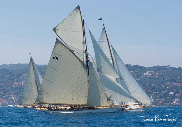 Day 3 – Moonbeam – Argentario Sailing Week and Panerai Classic Yacht Challenge © James Robinson Taylor