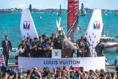 Burling punches Kiwis' ticket to America's Cup against Oracle Team USA © ACEA 2017 / Gilles Martin-Raget