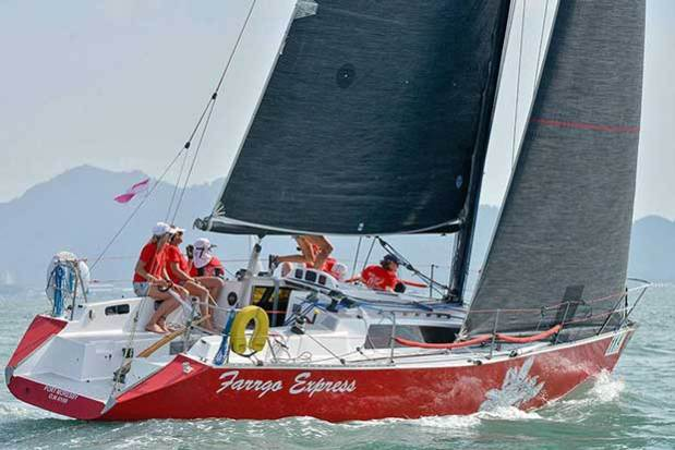 The Farr 1104 Farrgo Express will be raced with combined Australian-Phuket all ladies team at the 2017 Cape Panwa Hotel Phuket Raceweek. Event Media