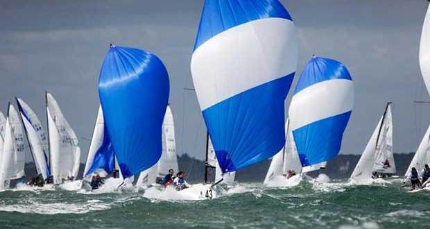 Adrenalin pumping action is expected for the J/70 UK National Championship © Paul Wyeth