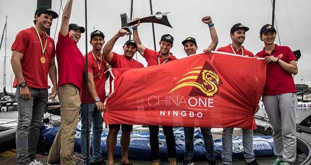 Winners - ChinaOne NINGBO (NZL) - 2017 M32 World Championship © Anton Klock / M32 World