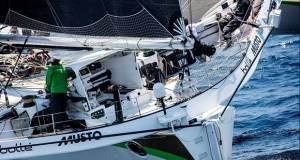 Phaedo3's 2017 Transpac Start Lloyd Thornburg's MOD70 Phaedo3, photos courtesy of Phaedo Racing.