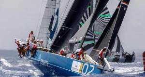 Azzurra gets a win at Puerto Portals 52 Super Series Sailing Week © Nico Martinez / 52 Super Series http://www.52superseries.com/