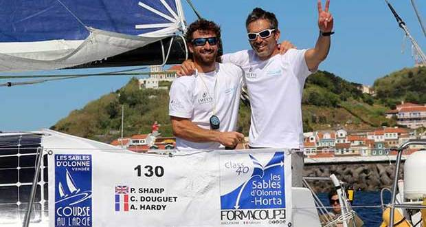 From left: Phil Sharp, Corentin Douguet © Phil Sharp Racing