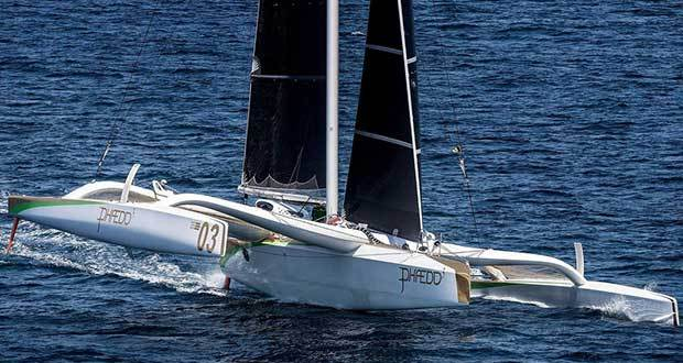 Phaedo^3 - 2017 Transpacific Race Phaedo Racing