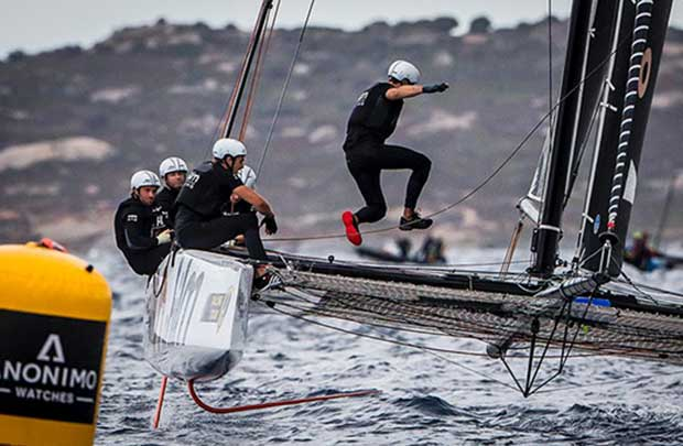 Racing was today's boat of the day, scoring a 1-2 - 2017 GC32 Orezza Corsica Cup Jesus Renedo / GC32 Racing Tour