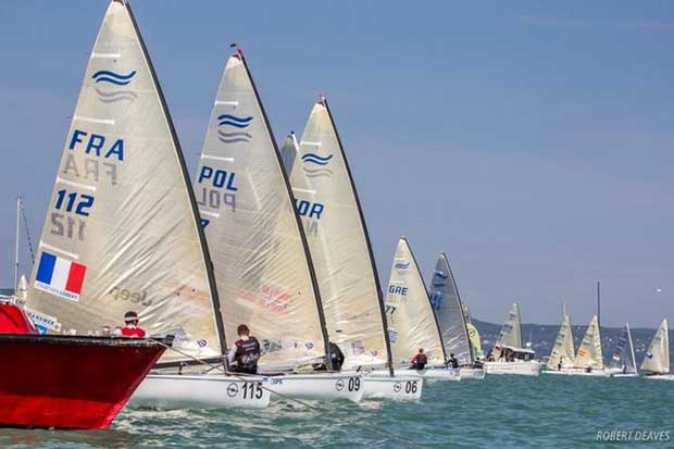 Start of Medal Race – Opel Finn Gold Cup © Robert Deaves