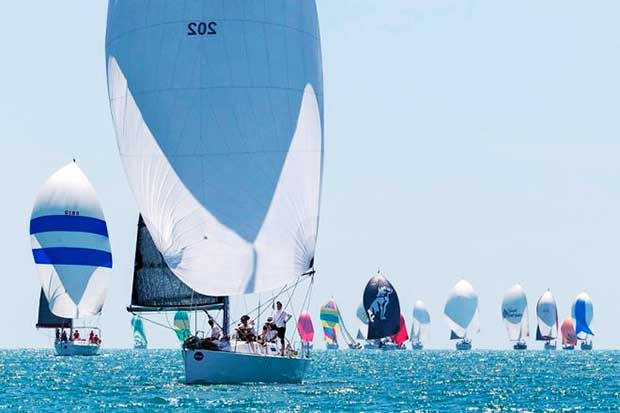 Reignition leads the charge – SeaLink Magnetic Island Race Week © Andrea Francolini / SMIRW