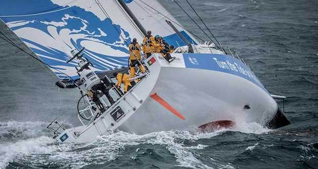 Leg Zero, Turn the Tide on Plastic compete in the Around the Island Race. Volvo Ocean Race. 02 August, 2017 © Ainhoa Sanchez / Volvo Ocean Race