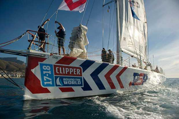 Clipper Round the World - sailing