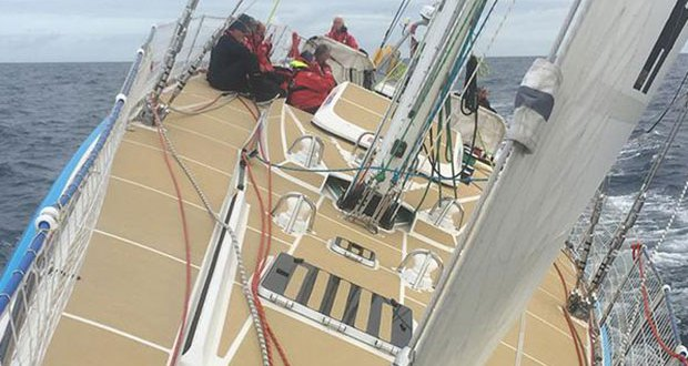 On board Unicef - 2017-18 Clipper Round the World Yacht Race Clipper Round The World Yacht Race http://www.clipperroundtheworld.com