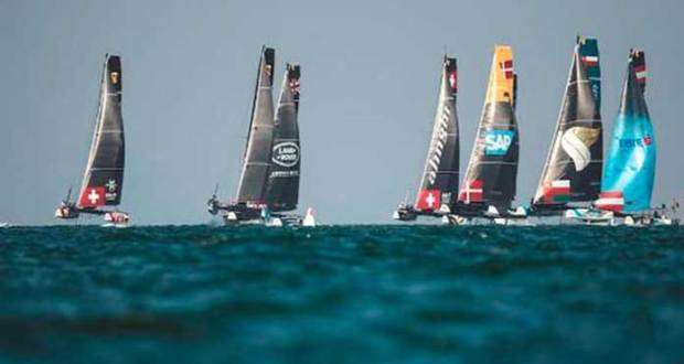 Countdown begins for spectacular Extreme Sailing Series San Diego © Lloyd Images