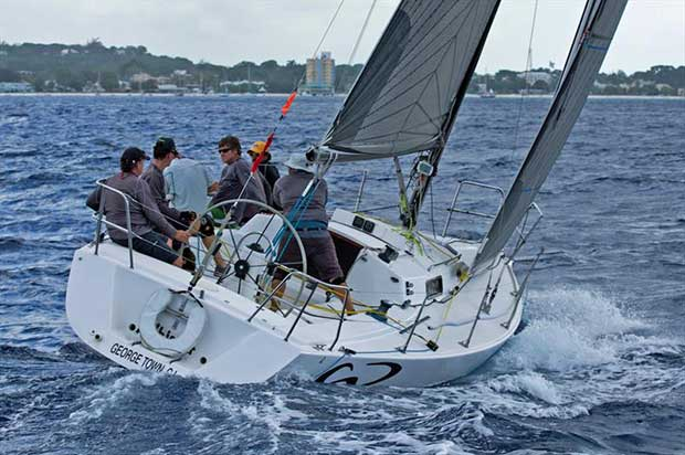 Whistler on her way to her first win of the regatta © Peter Marshall / BSW