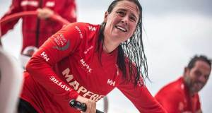 Leg 4, Melbourne to Hong Kong, day 11 on board MAPFRE, Tamara Echegoyen. © Ugo Fonolla / Volvo Ocean Race