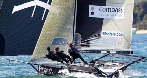 Finport was consistent in both races - 18ft Skiffs: Australian Championship 2018 - photo © Frank Quealey