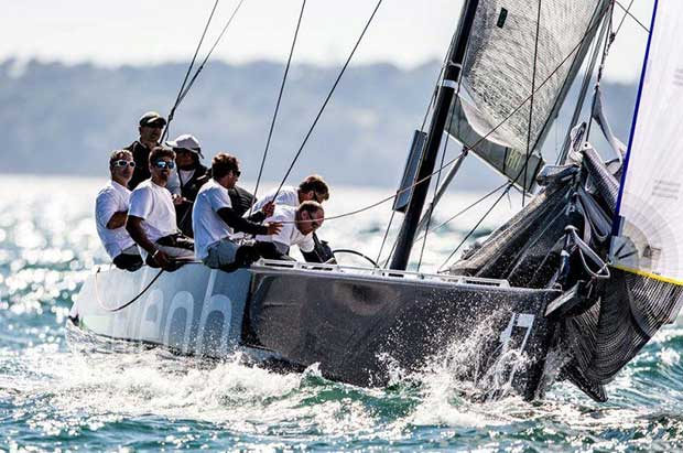 Aleph Racing return to the fleet in Lanzarote - photo © Pedro Martinez / Martinez Studio / RC44 Class