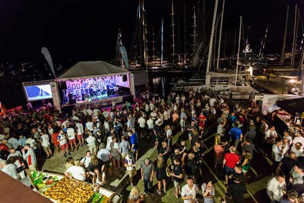 A thousand guests enjoyed the RORC Caribbean 600 Welcome Party at Antigua Yacht Club - photo © RORC / Arthur Daniel