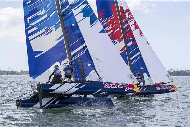 Red Bull Foiling Generation - NZ round - February 22-25, 2018 © Graeme Murray