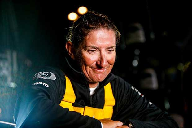 Volvo Ocean Race Leg 6 to Auckland, arrivals. 27 February - photo © Jesus Renedo / Volvo Ocean Race