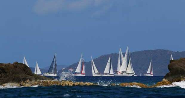 Around 20 Moorings and Sunsail charter boats will compete in the CSA bareboat fleet at the 47th BVISR © Ingrid Abery / www.ingridabery.com