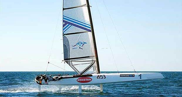 North Sails new Decksweeper 2 Mainsail for the A-Class © North Sails