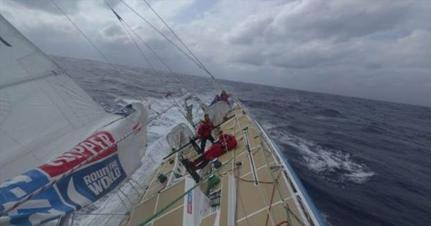 Clipper Round the World Yacht Race 8: The Sailing City Qingdao Cup, Day 11 © Clipper Race
