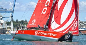 Race winner DongFeng, Volvo Ocean Race - Auckland Stopover In Port Race, Auckland, March 10, - photo © Richard Gladwell