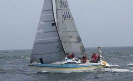 The 2018 COGS season kicks off with the Falmouth - Fowey - Falmouth races © Andew Laming