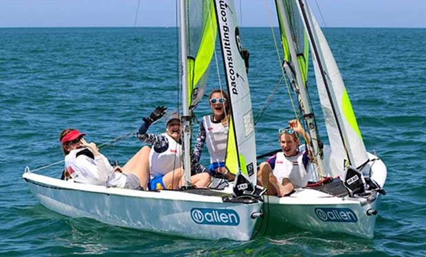 RS Feva Worlds at Clearwater Florida - Day 3 - photo © RS Feva Class Association