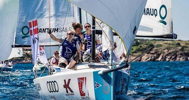 Royal Danish Yacht Club team, Audi SAILING Champions League - Porto Cervo 2018. - photo © SCL/Lars Wehrmann