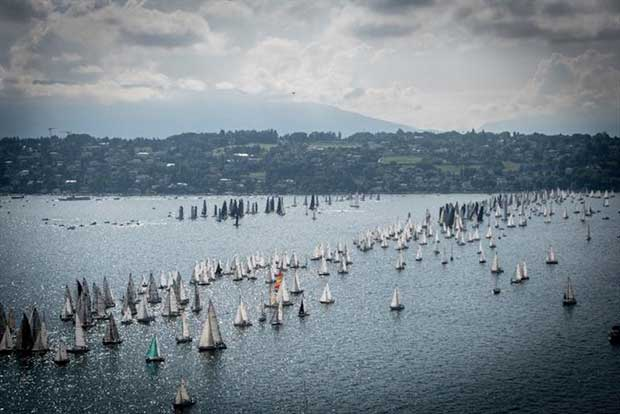 Bol d'Or Mirabaud - start - photo © Anna Ricca