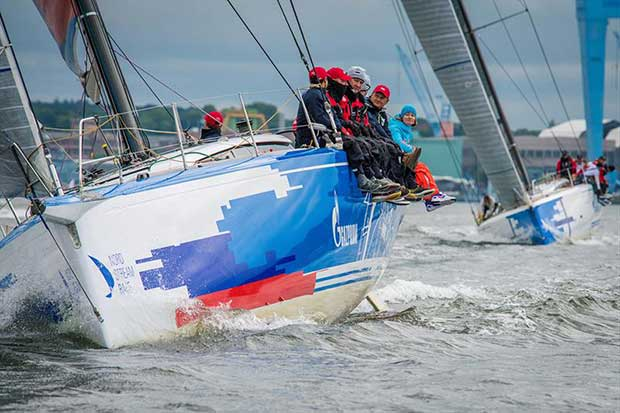 Team Russia: Lord of the Sail - 2018 Nord Stream Race - photo © NSR / Andrey Sheremetev