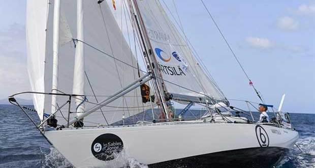 Tapio Lehtinen has issues with both the engine and solar panels aboard his Gaia 36 Asteria - photo © Christophe Favreau / PPL / GGR