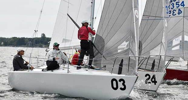2018 J/24 US National Championship - Day 2 - photo © Christopher Howell