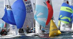 Gul Fireball Worlds at Carnac day 4 ©Urs Kueblis