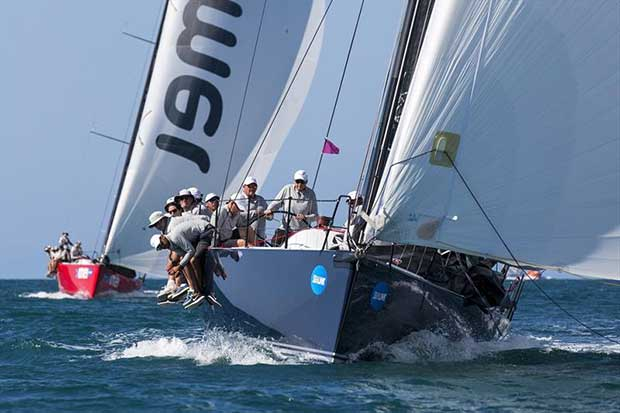 Scarlet Runner marked Balance to the end - SeaLink Magnetic Island Race Week 2018 © Andrea Francolini