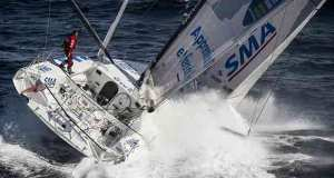 Paul Meilhat on SMA - Route du Rhum-Destination Guadeloupe - photo © V.Curutchet