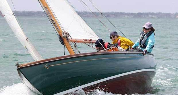Zephyr skippered by Anne Batson on day 1 of the 12th Classic Yacht Cup Regatta - photo © Alex McKinnon Photography