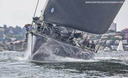 Black Jack in yesterday's SOLAS Big Boat Challenge - photo © Beth Morley / www.sportsailingphotography.com