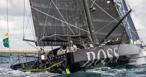 The complex stern of an IMOCA60 - Hugo Boss - Rolex Middle Sea Race © Joe Watson/ Alex Thomson Racing