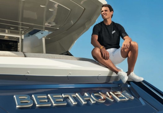 Rafael Nadal stars in MCY campaign on his 24m yacht ...