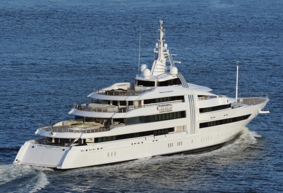 Motor Yacht Vibrant Curiosity Oceanco Yacht Harbour