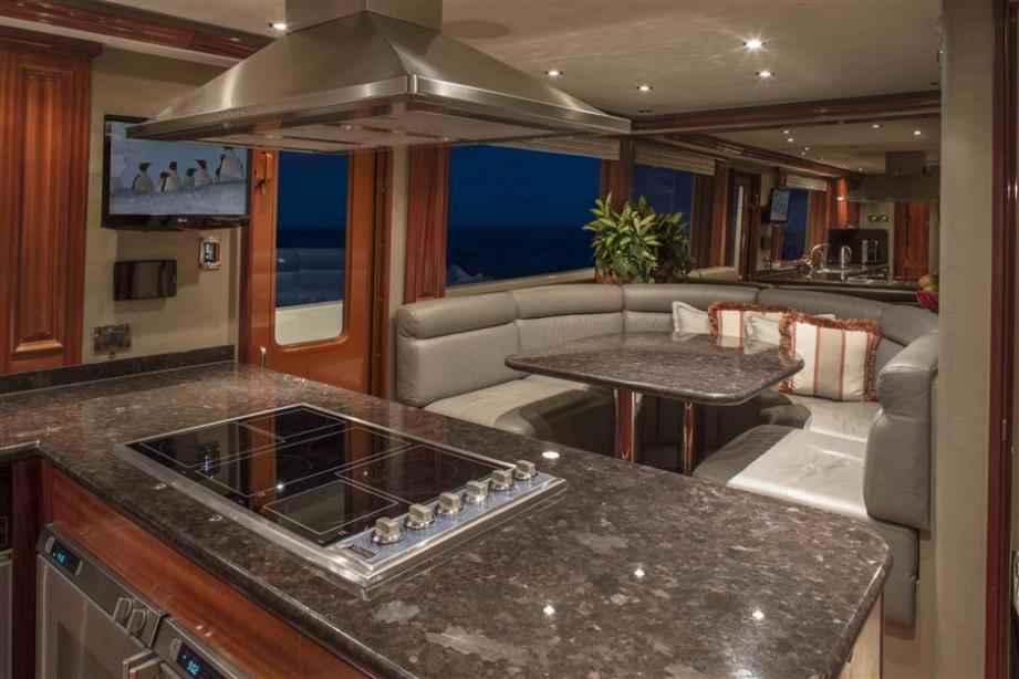 Motor Yacht Antares Westport Yacht Harbour