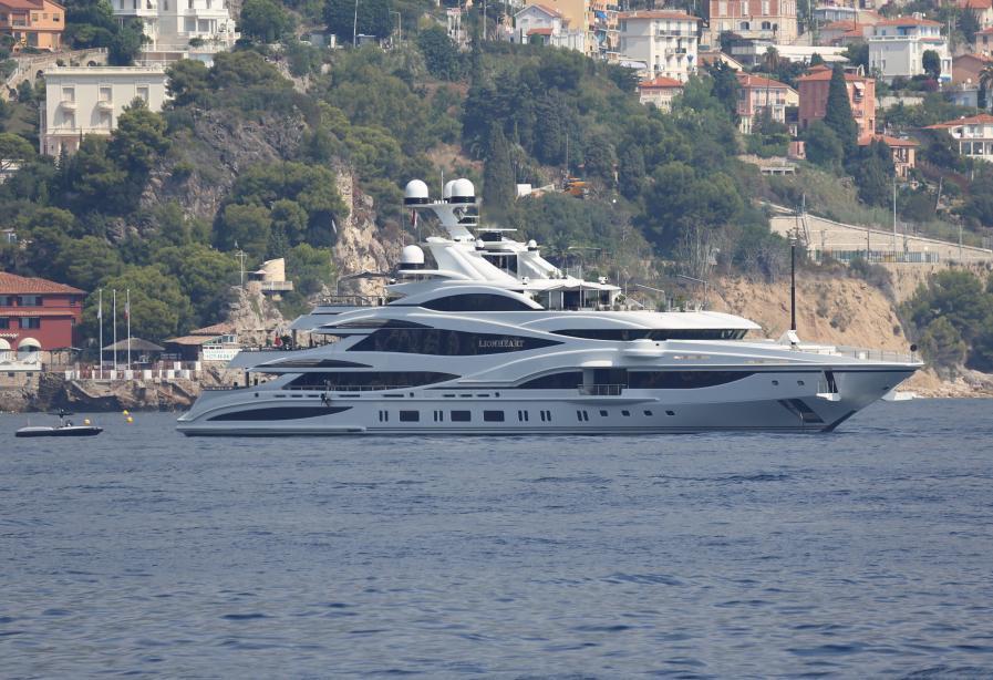 Motor Yacht Lionheart Benetti Yacht Harbour