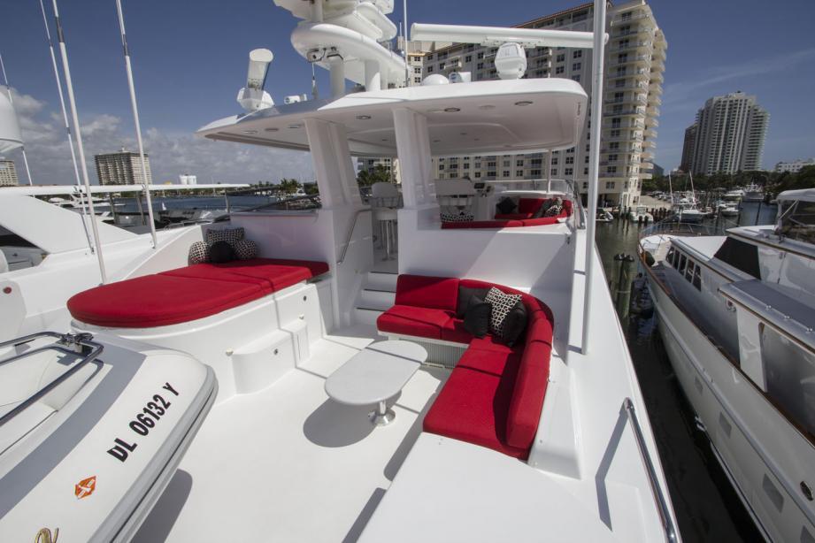 Motor Yacht Sensation Westport Yacht Harbour